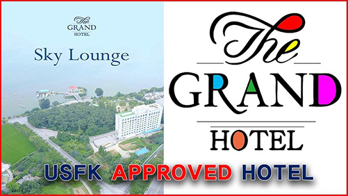 Grand Hotel Pyeongtaek Lake USFK Approved Hotel